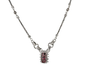 Eudialyte Sterling Silver Necklace