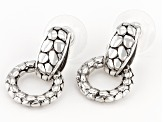 "Sterling Silver ""Virtuous"" Door Knocker Earrings"
