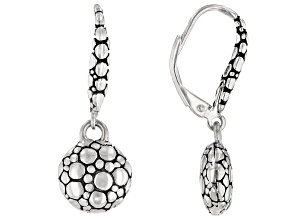 "Sterling Silver ""Promises"" Dangle Earrings"