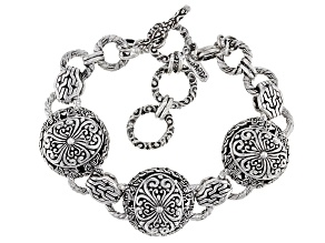 "Sterling Silver ""Graceful"" Bracelet"