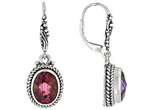 Xanadu™ Quartz Sterling Silver Dangle Earrings 4.08ctw