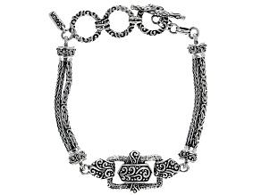 "Sterling Silver ""Blessed One"" Bracelet"