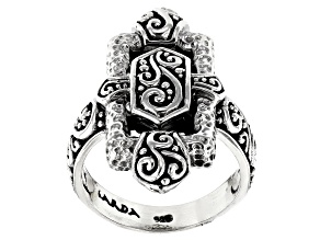 "Sterling Silver ""Blessed One"" Ring"