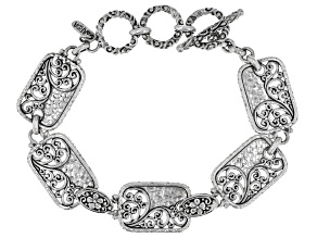 "Sterling Silver ""Time To Bless"" Bracelet"