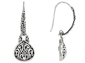 Sterling Silver Filigree Dangle Earrings