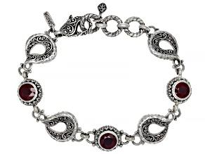 Red Mahaleo(R) Ruby Sterling Silver Bracelet 2.47ctw