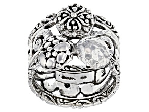 """Sterling Silver """"Promises"""" Band Ring"""