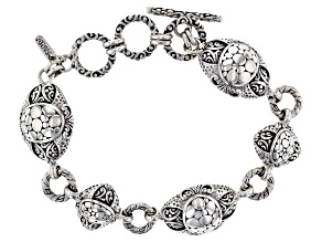 "Sterling Silver ""Opened Eyes"" Bracelet"