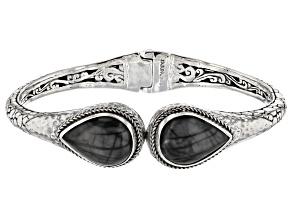 Picasso Jasper Sterling Silver Bracelet