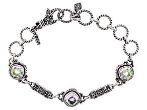 Zero Saturn™ Quartz Silver Bracelet 5.61ctw