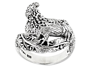 Sterling Silver Rooster Ring