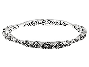 Sterling Silver Adair Bangle Bracelet