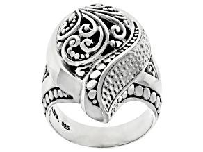 "Sterling Silver ""Grace Unending"" Ring"