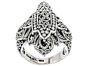 Sterling Silver Star Of Glory Ring