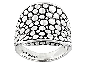Sterling Silver Scattered Jawan Ring