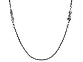 """Sterling Silver """"Perfector Of Faith"""" 36"""" Necklace"""
