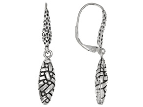 "Sterling Silver ""Fills My Soul"" Dangle Earrings"