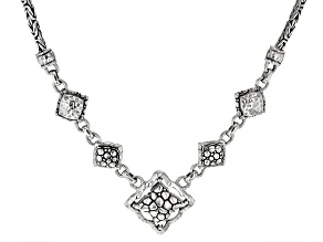 """Sterling Silver """"Purpose And Intent"""" Necklace"""