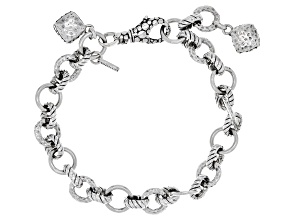 "Artisan Collection Of Bali™ Sterling Silver ""Purpose And Intent"" Bracelet"