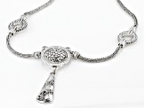 "Sterling Silver ""Starts From Within"" Necklace"