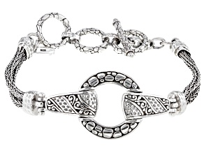 """Sterling Silver """"Starts From Within"""" Bracelet"""