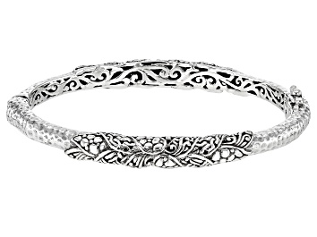 Picture of Sterling Silver Tree Of Life Bangle Bracelet