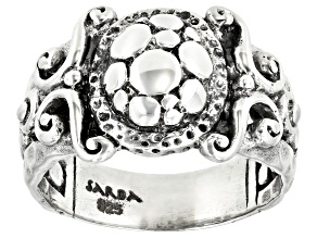 "Sterling Silver ""Time To Bless"" Ring"