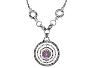 Ruby Silver Necklace 8.52ctw