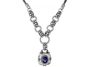 Blue Jay Jazz™ Quartz Silver Necklace 1.54ctw