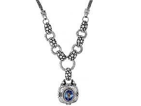 Razzmatazz™ Quartz Silver Necklace 1.40ctw