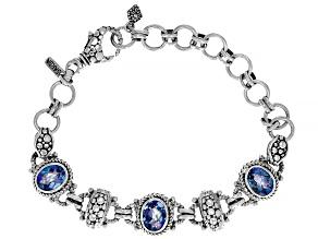 Razzmatazz™ Quartz Silver Bracelet 4.20ctw