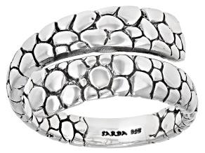 Sterling Silver Watermark Design Ring