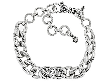 """Picture of Sterling Silver """"Perfecter of Faith"""" Bracelet"""