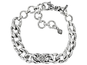 "Sterling Silver ""Perfecter of Faith"" Bracelet"