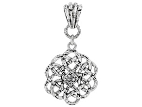 "Sterling Silver ""Perfecter of Faith Part II"" Pendant"