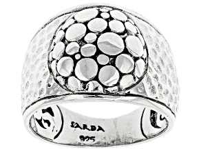 """Sterling Silver """"Overflowing Abundance"""" Band Ring"""