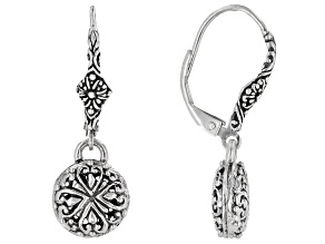 "Sterling Silver ""Promises III Collection"" Dangle Earrings"