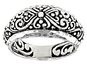 """Sterling Silver """"Promises III Collection"""" Band Ring"""