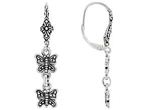 """Sterling Silver """"Life Change"""" Dangle Earrings"""