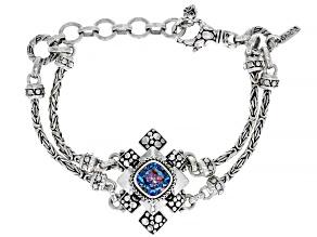 True Picasso™ Mystic Quartz® Silver Bracelet 2.47ct