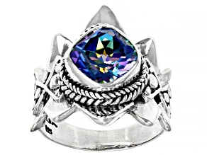 True Picasso™ Mystic Quartz® Silver Ring 2.47ct