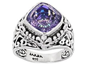 Chatty™ Quartz Sterling Silver Ring 3.40ct