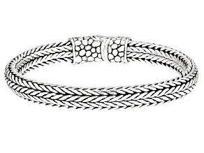 """Sterling Silver """"Doing Life Together"""" Bangle Bracelet"""