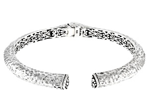 "Sterling Silver ""All Your Promises"" Bangle Bracelet"