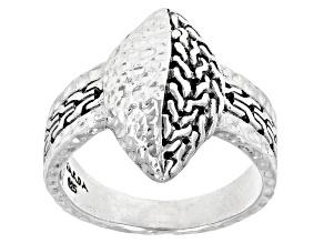 """Sterling Silver """"Safe Refuge"""" Ring"""