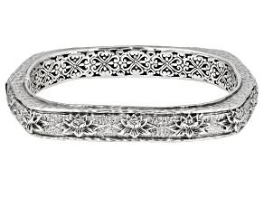 "Sterling Silver ""New Creation"" Bangle Bracelet"