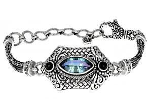 Beyond Elitism™ Quartz Sterling Silver Bracelet 3.18ct