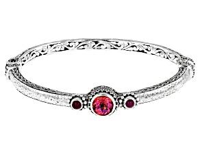 Pink Blessed™ Mystic Topaz® Sterling Silver Bracelet 1.70ct