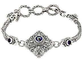 Blue Jay Jazz™  Sterling Silver Bracelet 1.28ctw