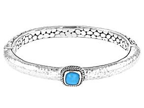 Blue Sleeping Beauty Turquoise Sterling Silver Bracelet